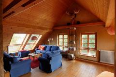 Wohnbereich im Dachgeschoss
